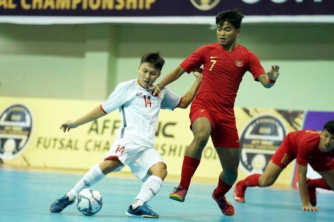 Thua chu nha Indonesia, DT futsal Viet Nam xep hang 4 o Dong Nam A hinh anh 1