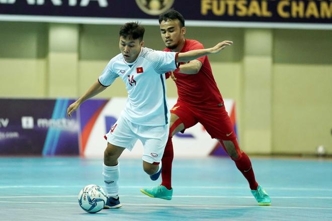 Thua chu nha Indonesia, DT futsal Viet Nam xep hang 4 o Dong Nam A hinh anh