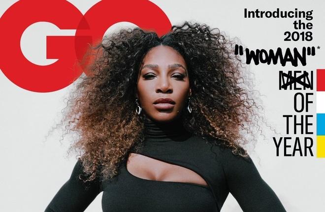 Hinh anh 'nguoi phu nu cua nam' Serena Williams gay buc xuc hinh anh
