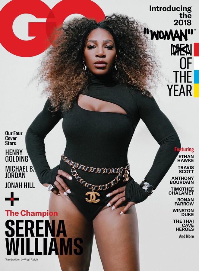 Hinh anh 'nguoi phu nu cua nam' Serena Williams gay buc xuc hinh anh 1