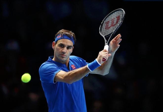 Highlights Roger Federer 2-0 Dominic Thiem: ATP Finals 2018 hinh anh