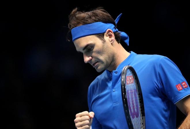 Thang de Dominic Thiem, Federer rong cua vao ban ket ATP Finals hinh anh