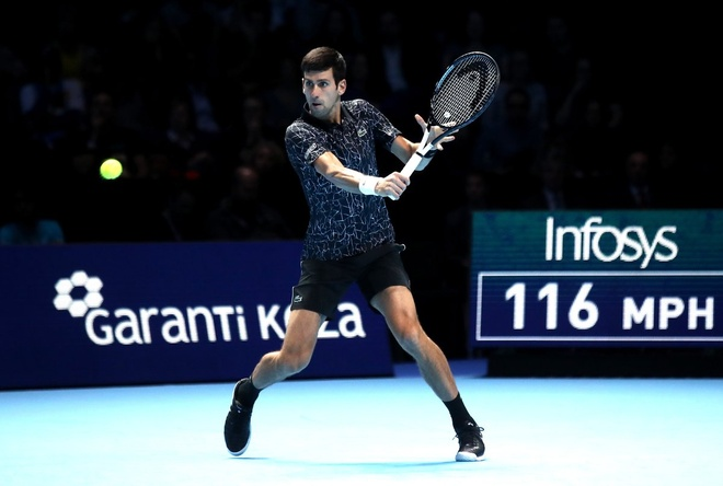 Djokovic thi uy suc manh truoc sao tre nguoi Duc tai ATP Finals hinh anh 1