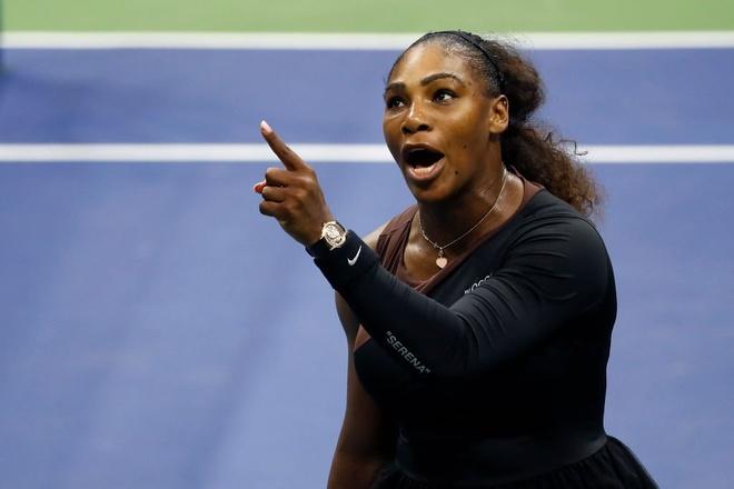 Hinh anh 'nguoi phu nu cua nam' Serena Williams gay buc xuc hinh anh 2