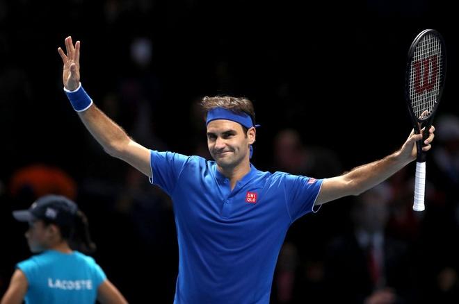 Federer va Anderson vao ban ket ATP Finals hinh anh