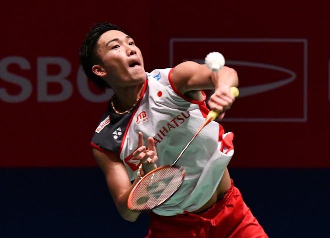 Highlights Kento Momota vs Jonatan Christie: Tu ket Hong Kong Open hinh anh
