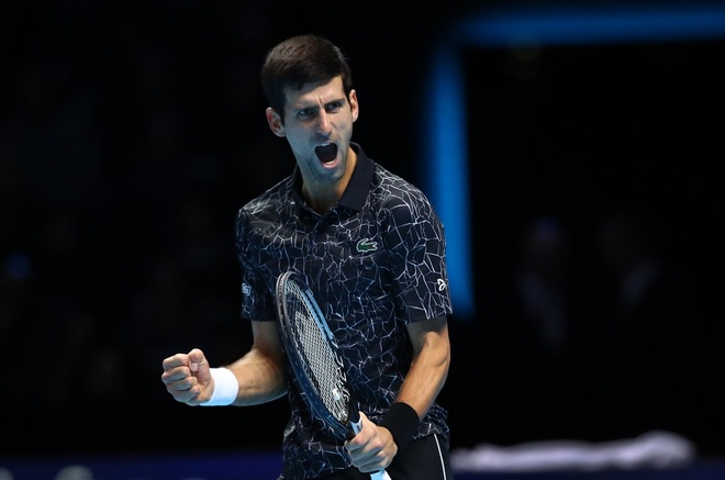 Thang de Anderson, Djokovic vao chung ket ATP Finals hinh anh 1