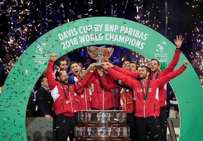 Ha Phap, Croatia vo dich Davis Cup hinh anh