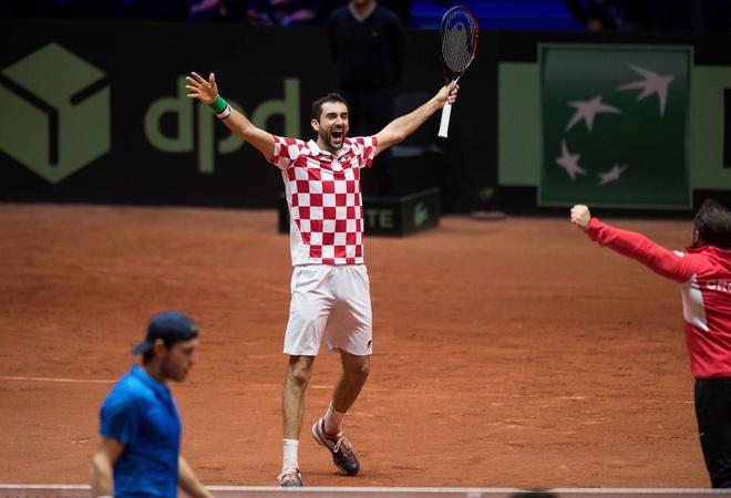 Ha Phap, Croatia vo dich Davis Cup hinh anh 1