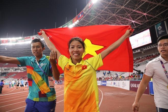 Nhieu noi dung the manh cua dien kinh VN bi cat bo tai SEA Games 2019 hinh anh