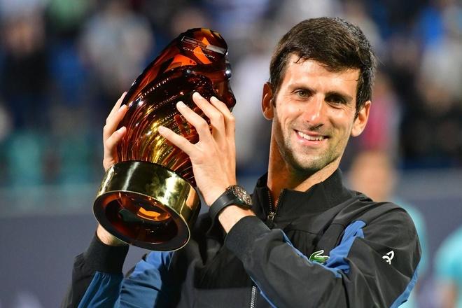 Vo dich Mubadala, Djokovic san sang cho mua giai moi hinh anh