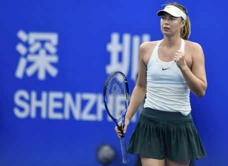 Sharapova rang ngoi sau chien thang khoi dau mua giai moi hinh anh 1