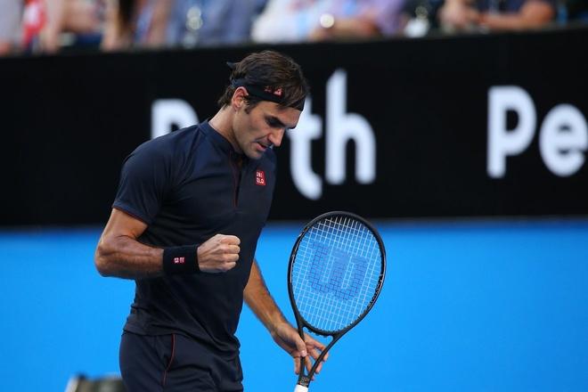 Federer va dong doi phan khich voi chuc vo dich Hopman Cup hinh anh 1