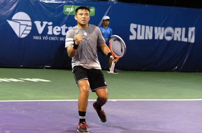 Hoang Nam dung buoc trong tiec nuoi tai giai Vietnam Open hinh anh 1