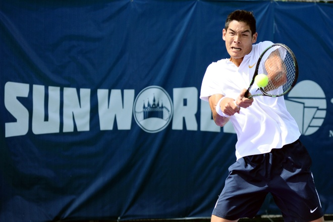 Thai-Son Kwiatkowski vao tu ket Vietnam Open anh 1