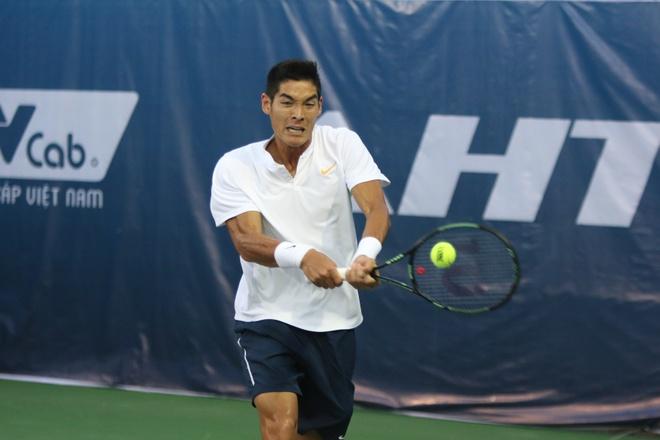 Gianh thang loi kich tinh, tay vot Viet kieu vao tu ket Vietnam Open hinh anh