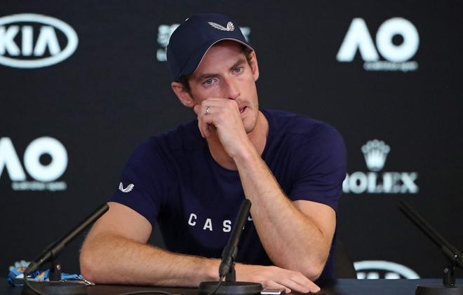 Cuu so 1 the gioi Murray co the giai nghe ngay sau Australian Open hinh anh