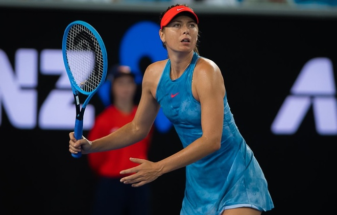 Highlights vong 2 Australian Open: Sharapova vs Peterson hinh anh