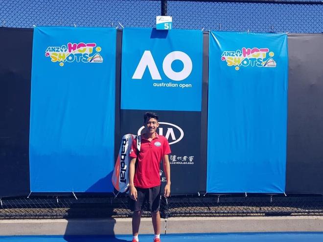 Nguyen Van Phuong ghi dau an trong lan dau du giai tre Grand Slam hinh anh 1