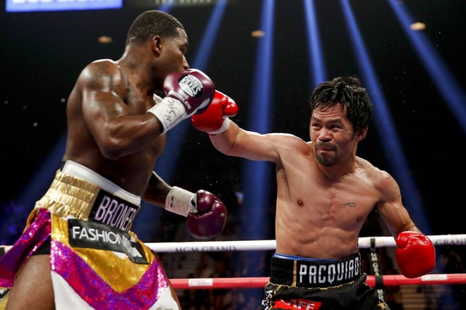 Bao ve thanh cong dai vo dich, Pacquiao thach dau Mayweather hinh anh 1