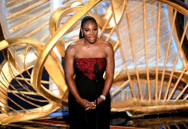 Sharapova va Serena noi bat tai bua tiec cua Oscars 2019 hinh anh 3