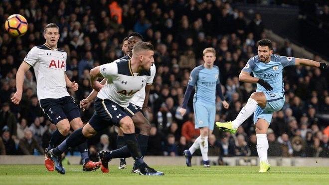 Tottenham gap Man City tai tu ket Champions League anh 1