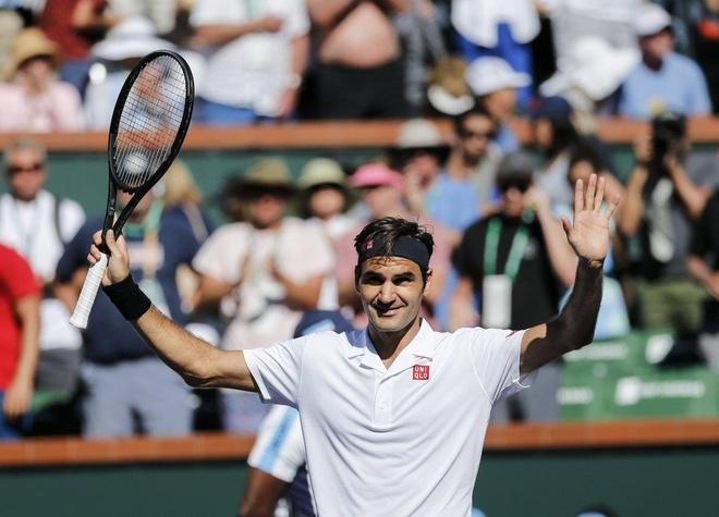 Federer gap Nadal tai ban ket Indian Wells 2019 anh 1