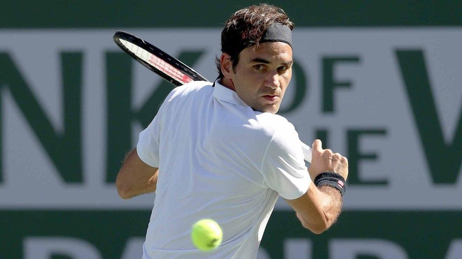 Roger Federer dung truoc thoi khac lich su tai Indian Wells hinh anh 1