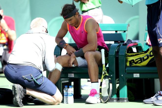 Nadal rut lui, Federer vao chung ket Indian Wells 2019 hinh anh 1