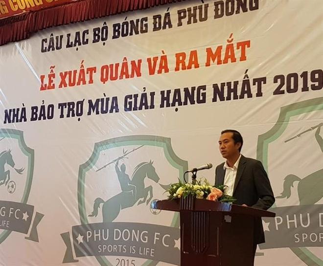 CLB Phu Dong noi khong voi tieu cuc trong mua giai anh 2