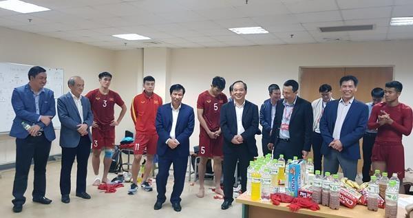 U23 Viet Nam duoc thuong nong khi vao vong chung ket U23 chau A 2020 hinh anh 1