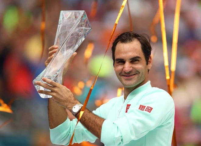Thang toc hanh 'may giao bong', Federer vo dich Miami Open hinh anh 2