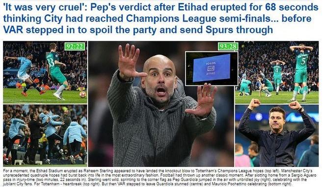 Pep Guardiola bi che gieu sau khi dung buoc o Champions League hinh anh 1