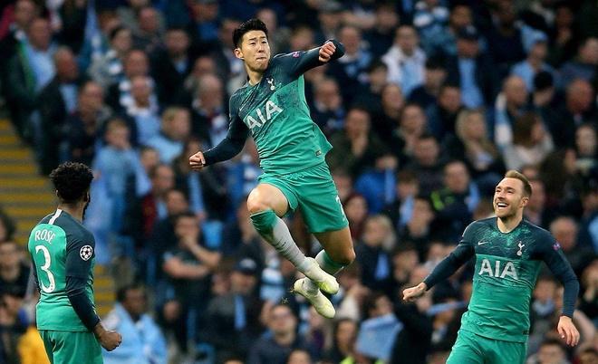 Son Heung-min tro thanh cau thu chau A vi dai nhat Champions League hinh anh 1