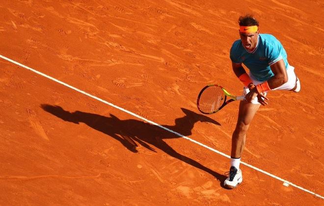 Ha 'Tieu Federer', Nadal lan thu 15 vao tu ket Monte Carlo hinh anh 1