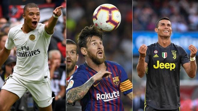 Mbappe: 'Toi se giai nghe neu phai lua chon giua Messi va Ronaldo' hinh anh 1
