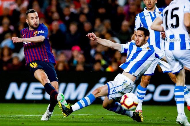Barca thang 2-1 Real Sociedad anh 2