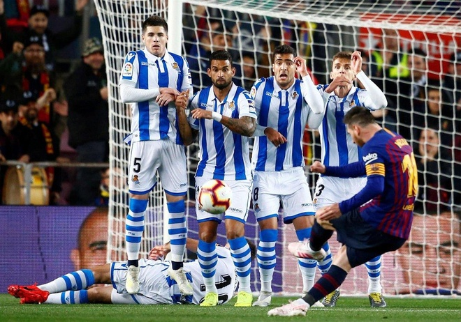 Barca thang 2-1 Real Sociedad anh 1