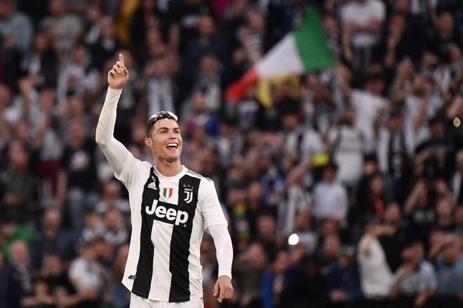Cristiano Ronaldo hua o lai Juventus sau khi lap ky luc hinh anh 1