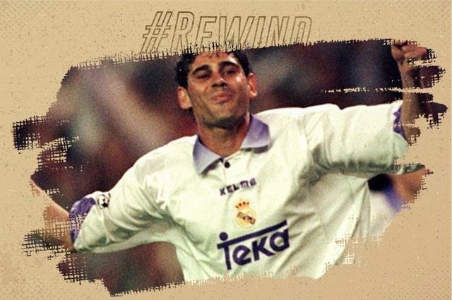 Nhung ban thang de doi cua cuu doi truong Real Fernando Hierro hinh anh