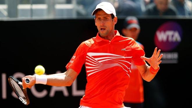 Djokovic nguoc dong kich tinh tai tu ket Rome Masters hinh anh 1