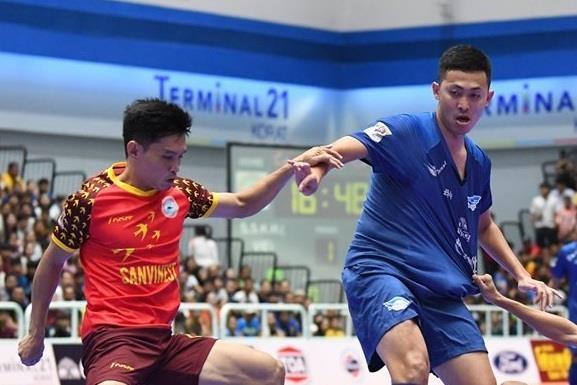 Highlights chung ket AFF futsal: CLB Khanh Hoa 1-9 CLB Chonburi hinh anh