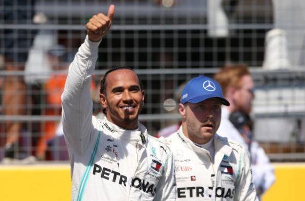 Lewis Hamilton gianh pole tai French Grand Prix hinh anh