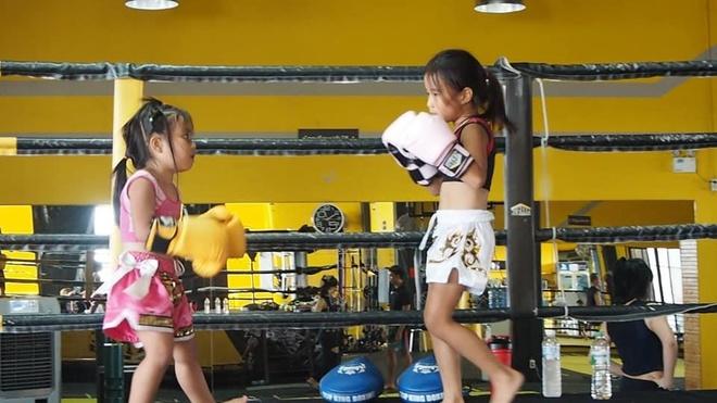 Chi em dam me Muay Thai anh 6