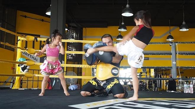 Chi em dam me Muay Thai anh 3