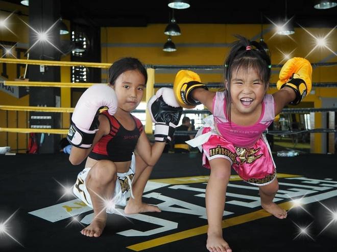 Chi em dam me Muay Thai anh 8