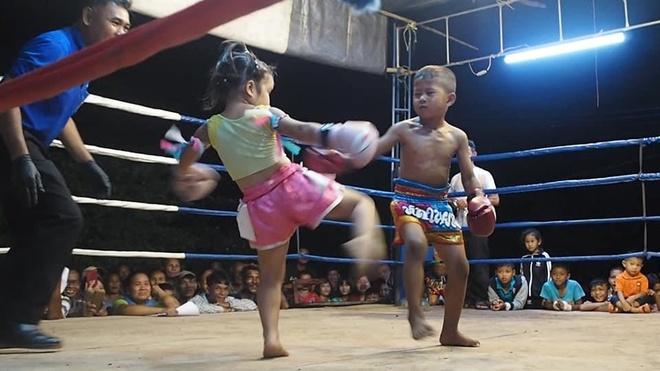 Chi em dam me Muay Thai anh 5