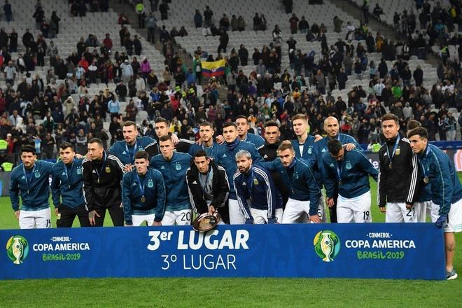 Lionel Messi tu choi du le trao giai 3 tai Copa America hinh anh 1