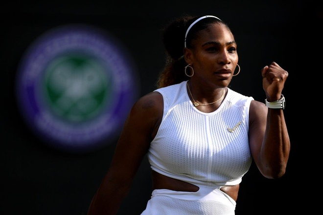 Serena dau Halep tai chung ket Wimbledon 2019 hinh anh 4