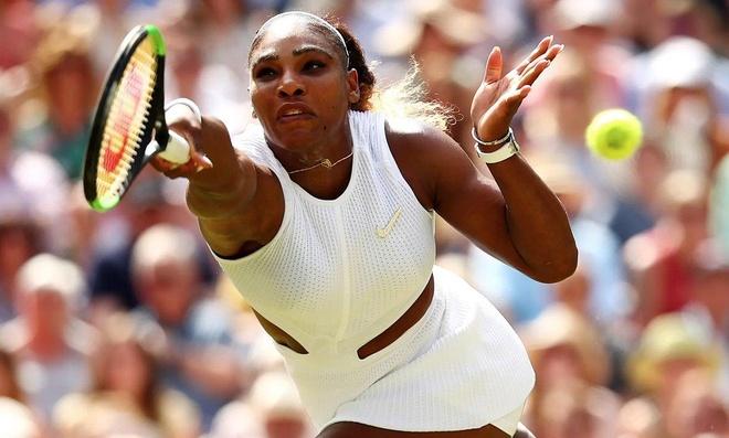 Serena dau Halep tai chung ket Wimbledon 2019 hinh anh 1